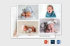 Birth Announcement Template | Newborn Announcement template | Birth announcement card | Birth announcement printable | Baby Announcement Birth Announcement Template, Birth Announcement Girl, Announcement Cards, Recipe Book Templates, Cookbook Template, Youth Group Activities, Youth Groups, Group Games, Family Reunion Games