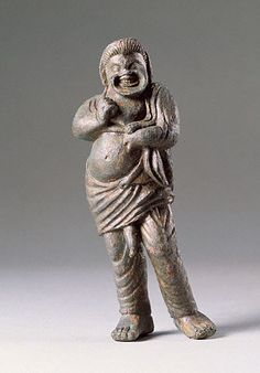 Statuette of a Comic Actor (Getty Museum).