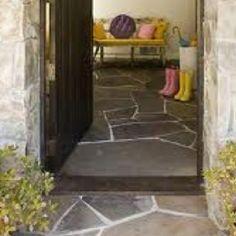 Floors on pinterest flagstone stone flooring and flooring