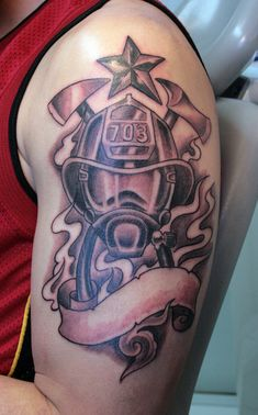 fireman tattoos | ... tattoos 2010 2013 gettattoo firefighter tattoo on firefighter the