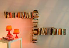 Bibliothèque Design Chicane by TeeBooks