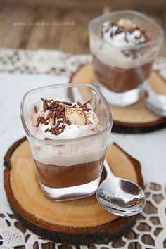 Coppe alla crema di castagne e cioccolato | Zonzolando