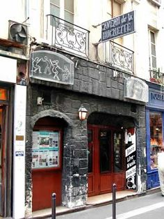 Caveau de la Huchette | Quartier Latin, Paris, France