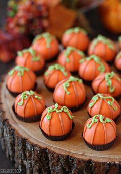 "Pumpkin Bread Truffles """