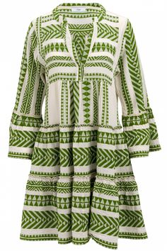 Devotion Damen Minikleid Ella Olivegrün | SAILERstyle Mini, Dresses With Sleeves, Chic, Long Sleeve, Fashion, Ladies Day Dresses, Tunic, Cotton, Nice Asses