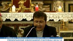 Pres. Orientamenti Pastorali 2014-2015 - Intervento Mons. Antonio Serra