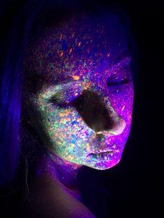 UV Light Photography Uv Black Light, Light Photography, Colors