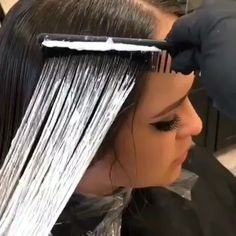 Our guest artist, Patricia Nicole paintedhair Wet Comb Balayage💦 to multidimensional ✨PaintedHair✨ goals using the new Tiffany Sorge NA series melted into or color services)! Hair Color Balayage, Hair Highlights, Ombre Hair, Blonde Hair, Blonde Balayage, Brunette Hair, Gray Hair, Grey Hair Coverage, Hair Color Formulas