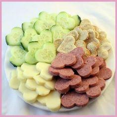 St Valentine's Day Sugar Free Snack Platter