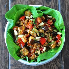 Drum Beets - Seattle Area Personal Chef: tunisian spiced roasted eggplant & pepper salad