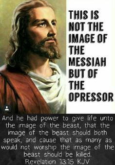 This false image of Yesuah/Jesus was modeled after Cesare Borgia. Don't be fooled when the deception is put on the world stage.