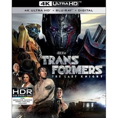 Transformers: The Last Knight [Blu-ray]         -- For more information, visit image link. (This is an affiliate link) #MoviesTV