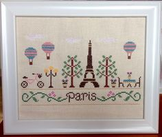 Paris Cross Stitch