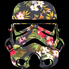 Tropical Stormtrooper T-shirt Design by StarWars