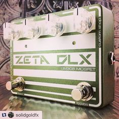 Repost @solidgoldfx:  New Custom Shop Zeta Deluxe Overdrive featuring an LM308/MOSFET Drive section with an independent JFET clean boost.  Available now @ www.solidgoldfx.com  #solidgoldfx #sgfx #sgfxcustomshop #sgfxod #sgfxoverdrive #customshopzeta #LM308mosfetzeta #LM308zeta #LM308 #mosfet #jfet #articulatedrive #uniquegainstructure #dynamic #zeta #zetadrive #overdrive #overdrivepedal #knowyourtone #ownyourtone #moredirt #gainisgood #jfetboost #effectsdatabase #tonemob #geartalk