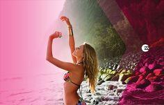Pink Colourlove - Billabong Spring 2013 Lookbook