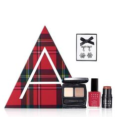 Avon Merry and Bright Abox Get holiday red-y with glossy red nails matched with glowing eyes and cheeks. Add sparkling earrings to make your days and nights both merry and bright. Three full-size makeup essentials and A-Box exclusive earrings: Holiday Nail Designs, Holiday Nails, Blush On Cheeks, Avon Sales, Avon Catalog, Avon Brochure, Avon True, Avon Online, Shops