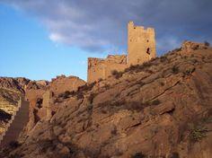 Castillo de Alhama, en Murcia Monument Valley, Mount Rushmore, Medieval, Portugal, Spain, Castle, Armors, Mountains, Palaces