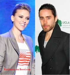 #ad Scarlett Johansson  - Scarlett Johansson, Jared Leto Hold Hands at Democratic National Convention; Read more on http://floost.com/