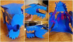 chinese dragon head pattern foam - Google Search