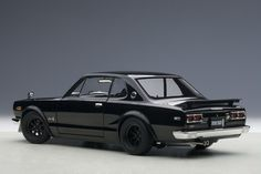 """The Nissan Skyline GT-R KPGC10 """"Hakosuka,"""" one of the most popular vintage Japanese cars in the world. AUTOart has crafted what is probably the finest diecast model replica of this iconic car in 1:18 scale. Now available at Model Citizen."""