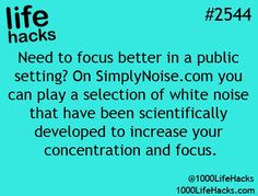 Concentration via white noise