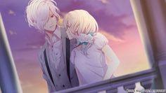 Subaru Sakamaki and Yui Komori 【Diabolik Lovers Dark Fate】