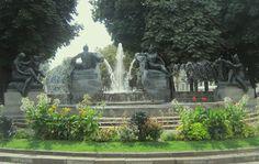 Torino magica. La fontana Angelica di Piazza Solferino