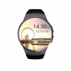 2016 New Product KW18 Smart Watch Android/IOS Digital-watch Bluetooth Reloj…