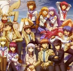 Attack of the OTAKU'S!!: Angel beats REVIEW. Check out the blog!