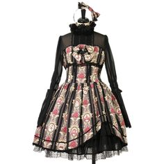 ♡ ALICE and the PIRATES ♡ Queen's Coach pattern dress + Headband http://www.wunderwelt.jp/products/detail11954.html ☆ ·.. · ° ☆ How to order ☆ ·.. · ° ☆ http://www.wunderwelt.jp/user_data/shoppingguide-eng ☆ ·.. · ☆ Japanese Vintage Lolita clothing shop Wunderwelt ☆ ·.. · ☆