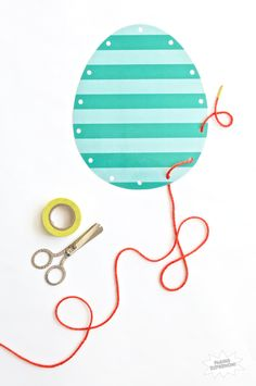 Sew an Egg free printable from Paging Supermom on www.thecraftingchicks.com