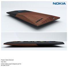 Nokia Diamond, personal project by Richard Malachowski, via Behance