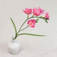 My floret ( Origami Rose, Crepe Paper Flowers, Ikebana, Floral Arrangements, Glass Vase, Photo And Video, Create, Instagram, Etsy