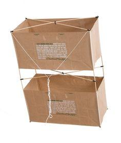 <em>Paper Bag Box Kite</em>, 2008
