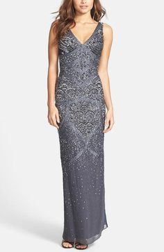 Mermaid-inspired sparkle gown
