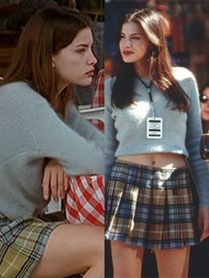 Liv Tyler in Empire Records was everything every girl wanted to be in the Beauty 2000s Fashion, Look Fashion, Clueless Fashion, Vogue Fashion, Aesthetic Fashion, Mode Outfits, Fashion Outfits, Fashion Trends, Odette Et Lulu