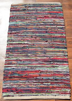 Handwoven Rug  T Shirt  Mix by plowgirl on Etsy