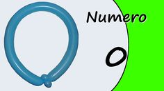 Video tutorial on how to make the Number Zero with balloon twisting. Learn the numbers with balloons modeled #numbers #number0 #numberzero