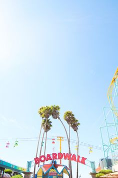 Santa Cruz Boardwalk | studiodiy.com