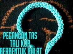 Tutorial Tas Tali Kur (Part 1) - YouTube Macrame Dress, Macrame Bag, Crochet Patterns For Beginners, Handicraft, Knots, Diy And Crafts, Youtube, Bridal Shower, Handle
