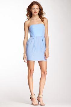Foxy Silk Mini Dress on HauteLook