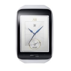Samsung Gear S Pure White 1 Samsungs new smartwatch, the Gear S, can make calls and go online without a smartphone