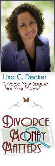 Divorce money matters.