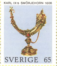 "Sweden 65ö ""Swedish Crown Regalia"" 1971"