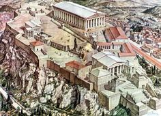 What will the Acropolis look like after restorations - Google Search