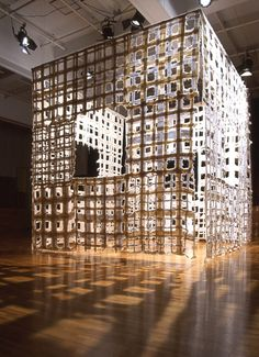 Koji Takaki His work is concerned with 'oppositional' elements: weightlessness and heaviness, transparency and opacity, light and shadow, presence and absence Paper Installation, Art Installations, Muse Art, Shadow Art, Textile Fiber Art, Textiles, Light Art, Light And Shadow, Community Art