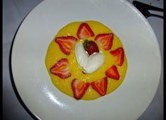 Dessert at Dining Room at Mirbeau