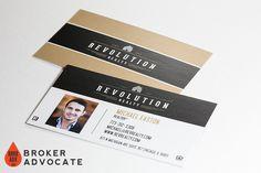 Mortgage Business Card Design - Real Estate #realestate #modern #businesscards #branding