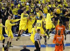 Michigan Going To The Nationial Championship for the first Time since 1989. GO BLUE!